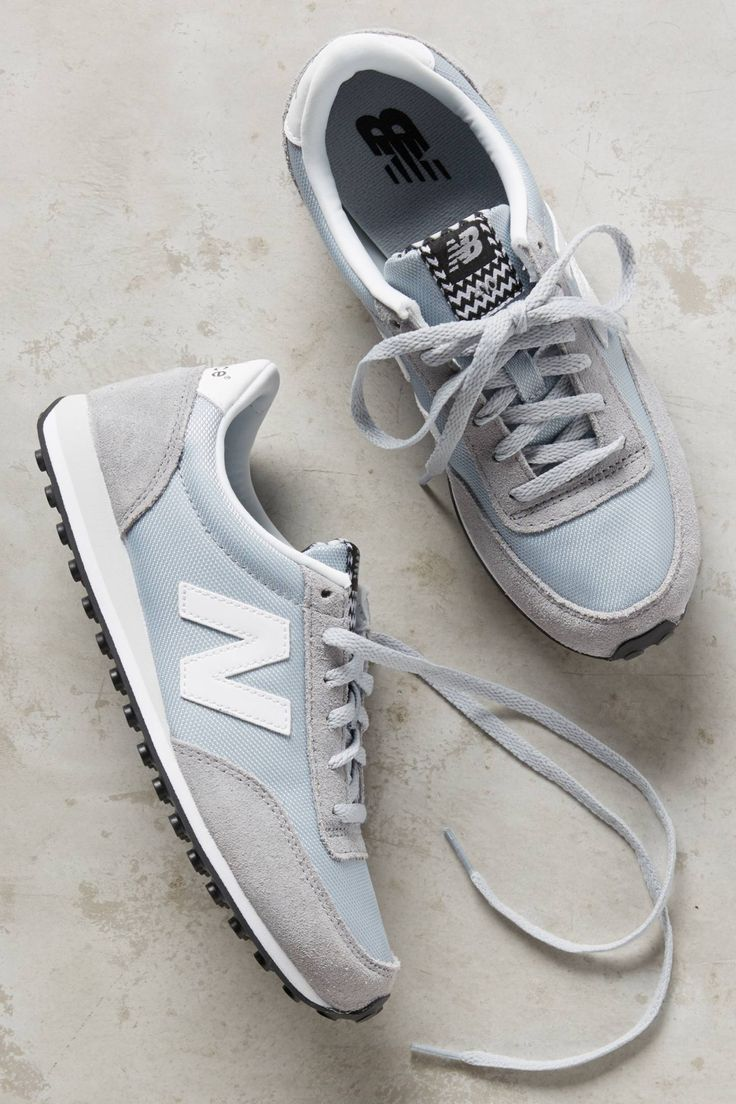 New Balance 410 Sneakers. I like that these are probably very comfortable  but look daintier than typical tennis shoes. If love to have these in a  brighter ...