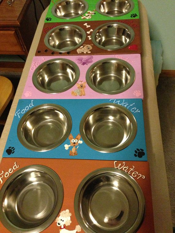 1000+ images about Dog Bowl Stands on Pinterest