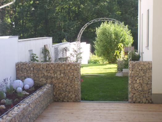 Gaviones decorativos gaviones piedra gaviones interior - Piedra para pared exterior ...