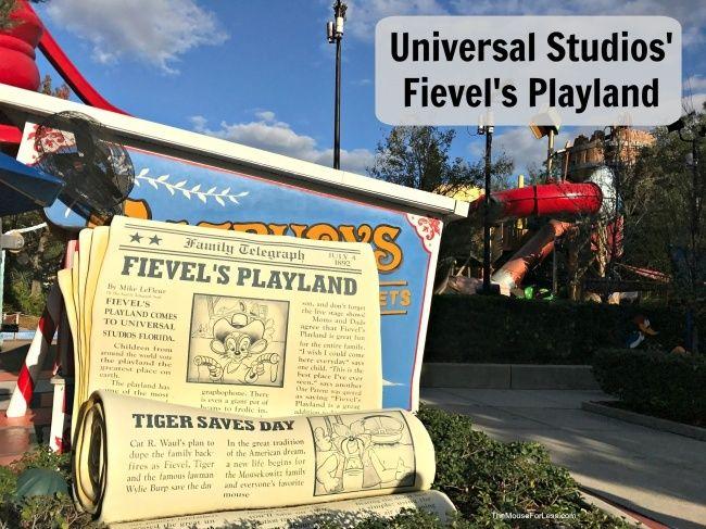 Fievel S Playland Universal Studios Florida At Universal Orlando Resort Universal Studios Florida Universal Studios Universal Orlando Resort