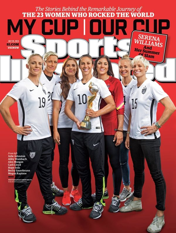 USWNT Sports Illustrated Cover