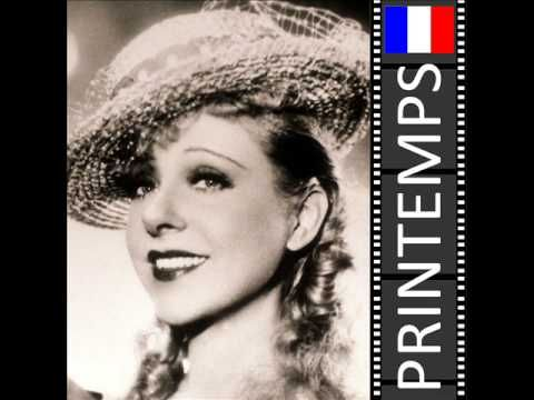 Les Chansons de Yvonne Printemps : Je t'aime - YouTube 1ST SONG IN PLAYLIST BEST FRENCH SONGS