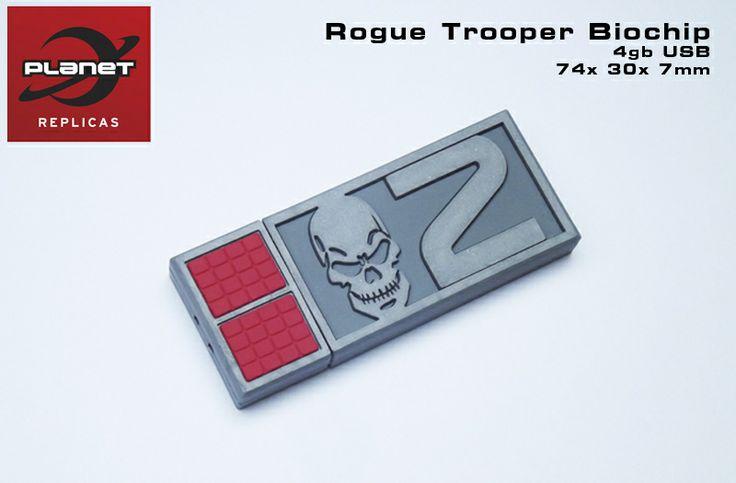 Rogue Trooper 'Gunnar' 4gb USB BioChip Replica - Planet Replicas Ltd