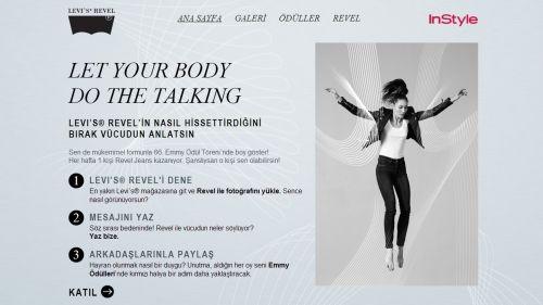Levi's Revel ile vücudunu konuştur, Emmy'de boy göster! http://tikl.at/2vuS0j #ad