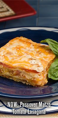 Matzo Lasagna for Passover -- looks like the best grilled cheese sandwich.