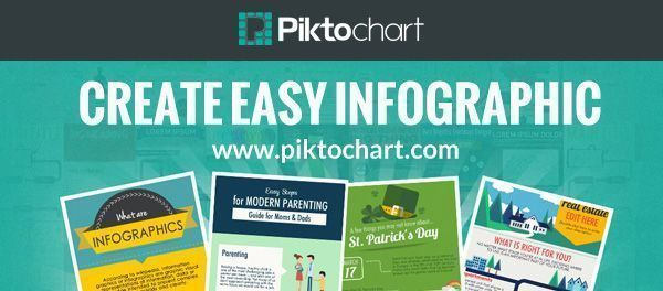 Piktochart is an easy infographic design app that requires very little effort to produce beautiful, high quality graphics. Make your own infographics here.