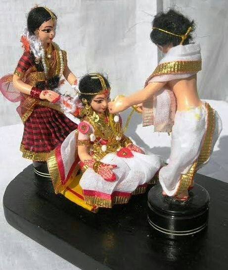 indian marriage dolls