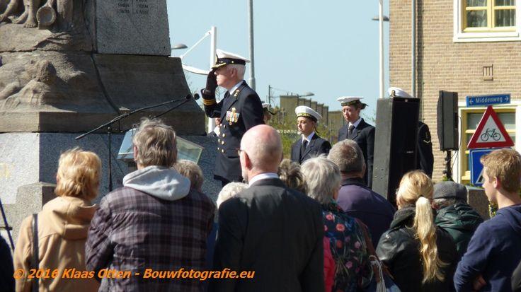 """4 mei herdenking op rotonde """"de vijfsprong"""" in Den Helder!, 4 mei 2016."""