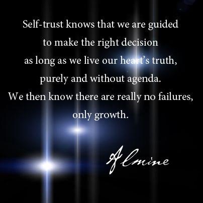 Self-Trust...
