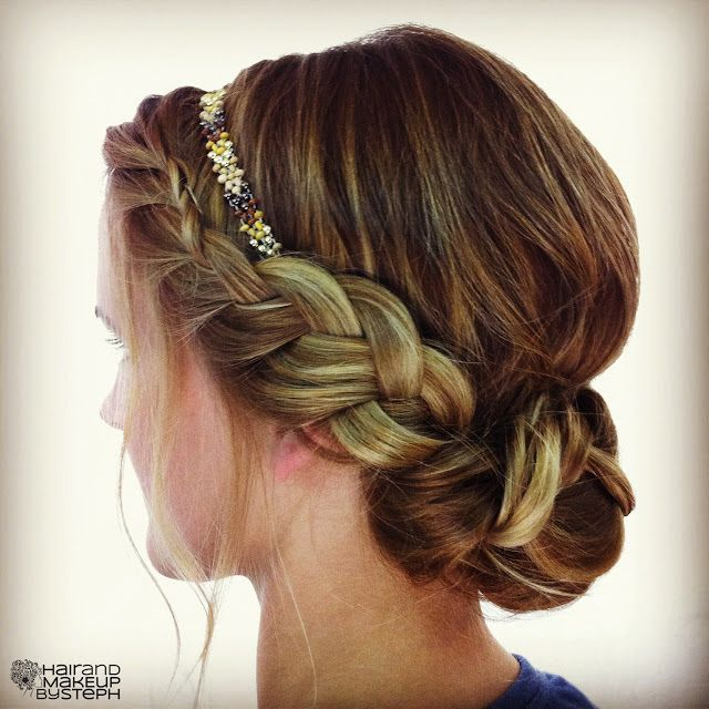 147 best Hair Styles- Braided Updos images on Pinterest | Wedding ...
