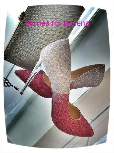Γυναικείες δίχρωμες γόβες με τακούνι 10 πόντων  http://handmadecollectionqueens.com/γυναικειες-γοβες-διχρωμες  #fashion #pump #footwear #women #storiesforqueens #γοβα #υποδηματα #μοδα #γυναικα