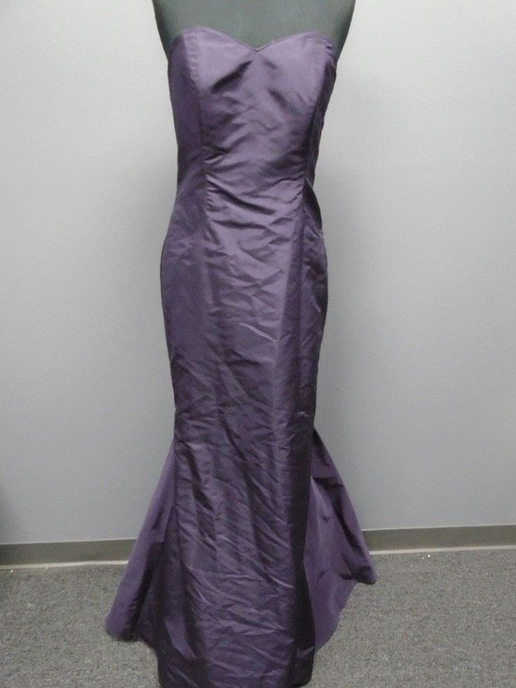 Cool Amazing PRISCILLA OF BOSTON NWT Eggland Purple Silk Mermaid Bridesmaid Dress 6 8474A 2018 Check more at http://24store.cf/fashion/amazing-priscilla-of-boston-nwt-eggland-purple-silk-mermaid-bridesmaid-dress-6-8474a-2018/