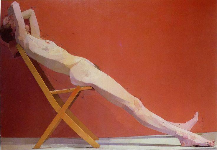 Euan Uglow - The Diagonal