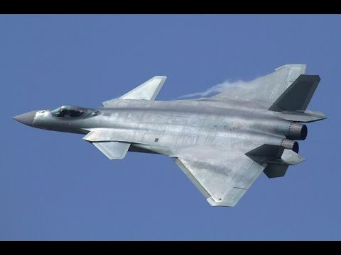 China J-20 Chengdu Stealth Fighter In Action - Full HD Video