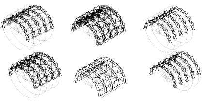 Prototipo de diseño de una cubierta retráctil tensada | Morales Guzmán | Revista de Arquitectura