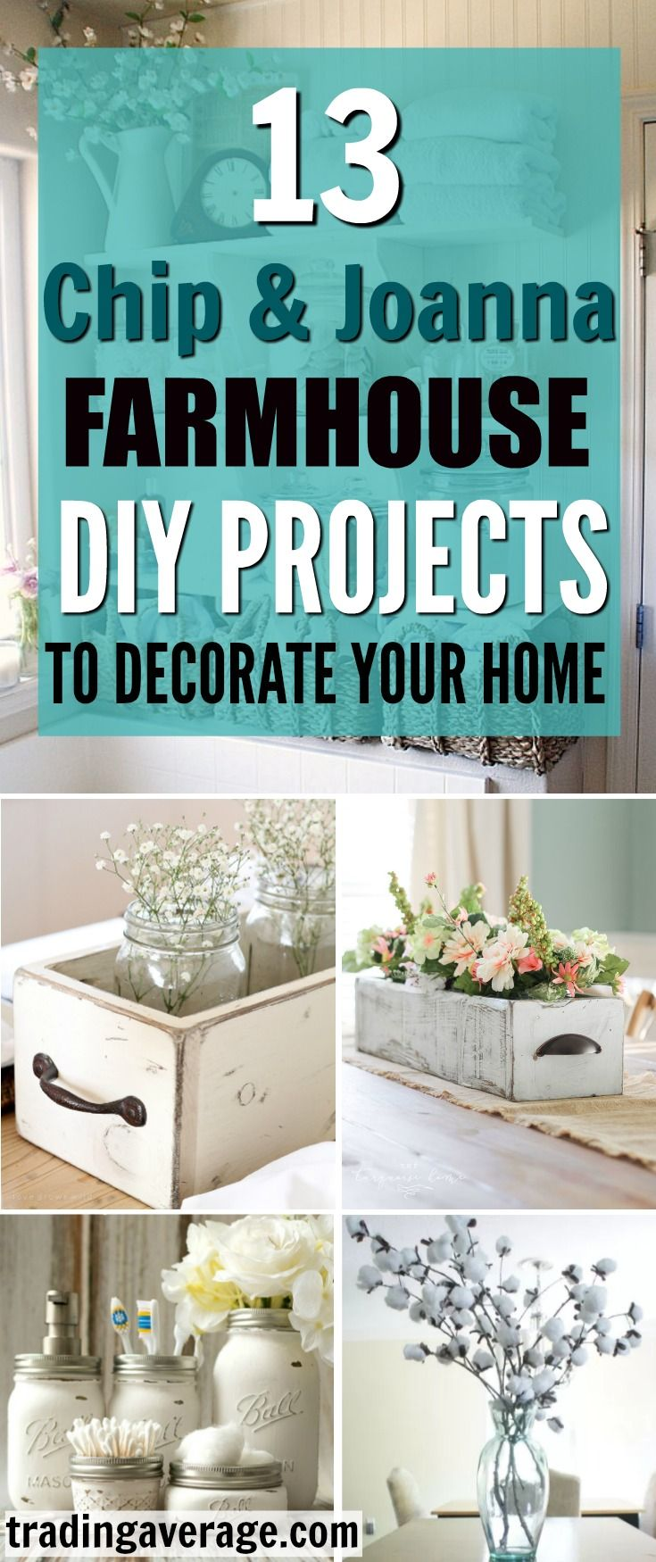 13 DIY Farmhouse Dcor Ideas That You