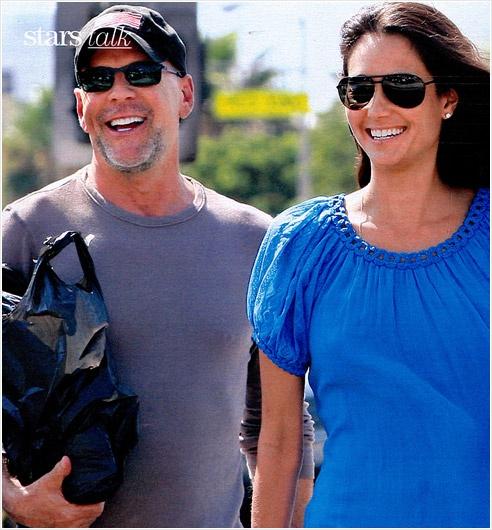 Bruce Willis wearing MYKITA | Celebrity Spotting ... Bruce Willis