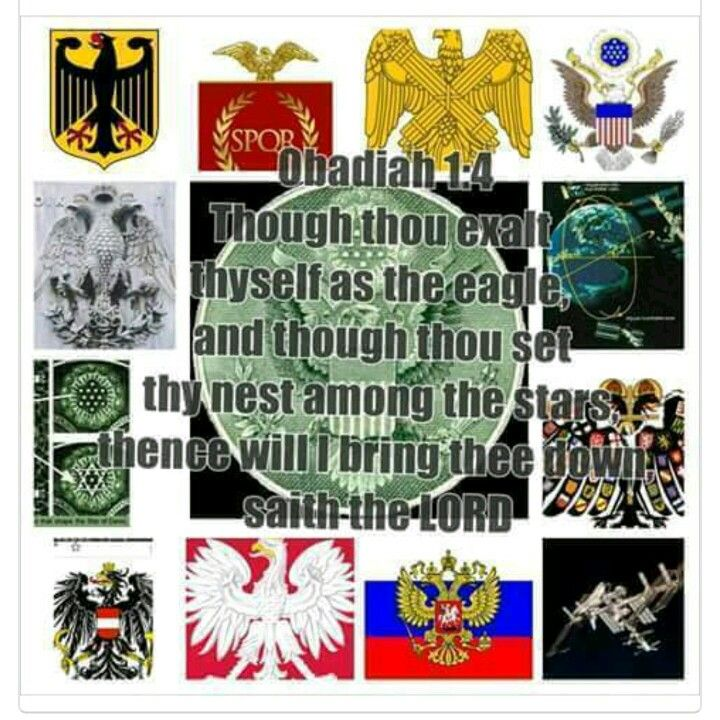 If you want to know who Edom, then follow the eagles!!! Wherever there is an eagle, Israel has been mistreated or enslaved!
