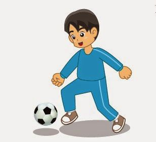 Teknik Cara Menggiring Bola Dengan Kaki Bagian Dalam Pada Sepakbola