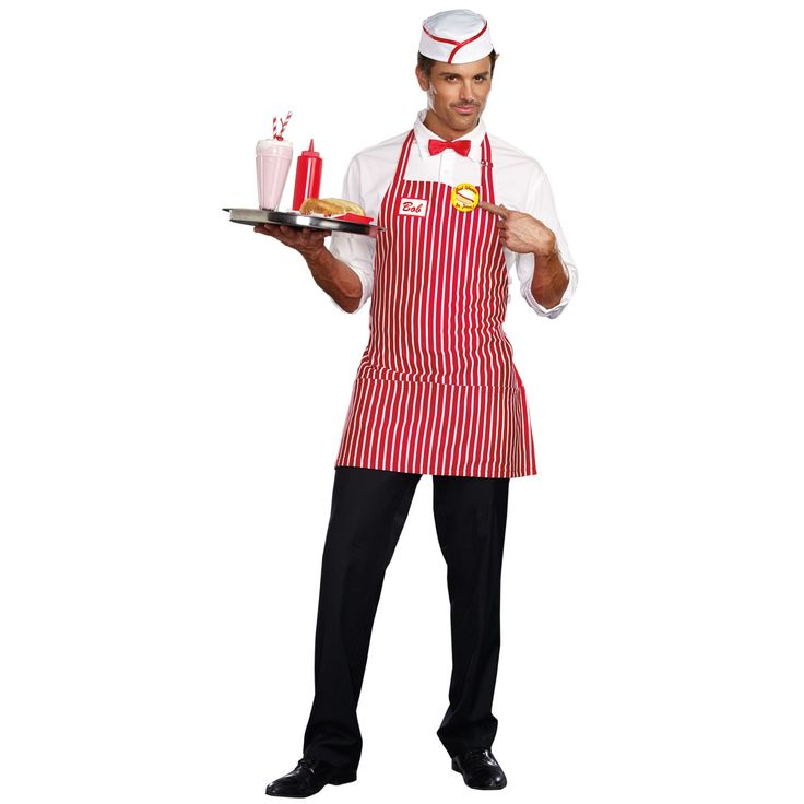 Diner Dude Costume For Men | BuyCostumes.com