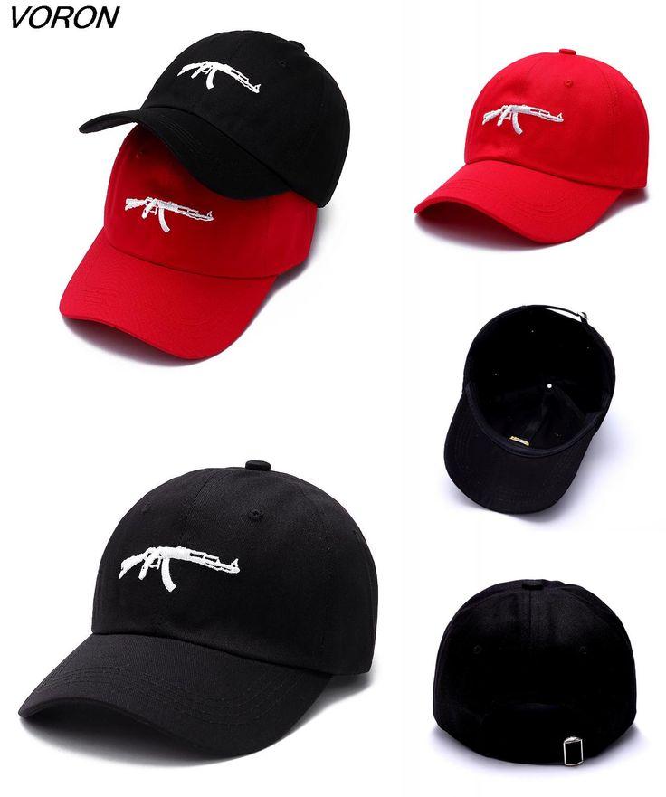 [Visit to Buy] VORON 2017 nieuwe mode machinegeweren baseball caps snapback dad hoed drake curve vizier kans de rapper hoeden voor mannen #Advertisement