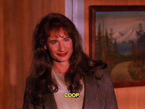 David Duchovny as Denise Bryson in Twin Peaks