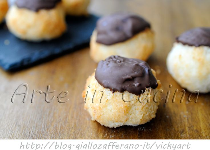 Dolcetti al cocco e cioccolato veloci