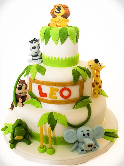 Lion Birthday Cake Design Dmost for