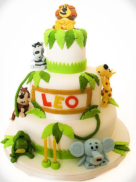 Lion Birthday Cake Design Dmost for