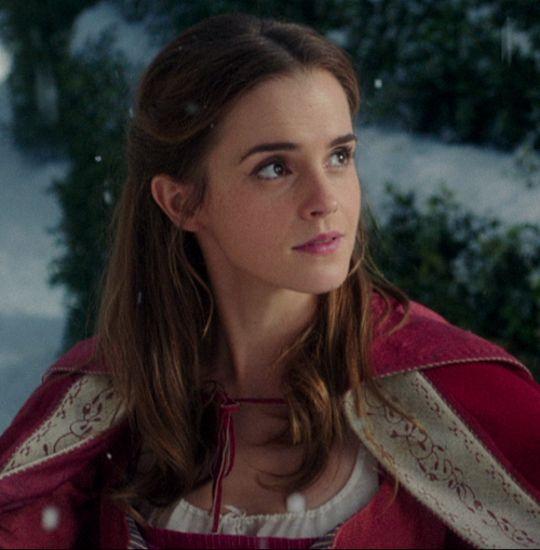 Emma Watson as Belle in Disney's 2017 Beauty and the Beast.