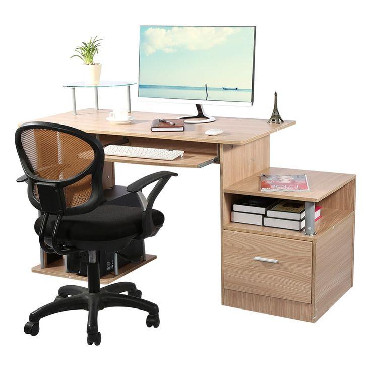 360 best office furniture images on pinterest hon office for Computer bureau