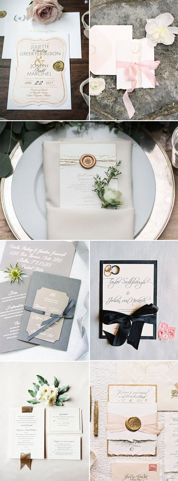 3248 Best Wedding Invitations Images On Pinterest Wedding