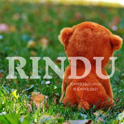 Kata bergambar Rindu