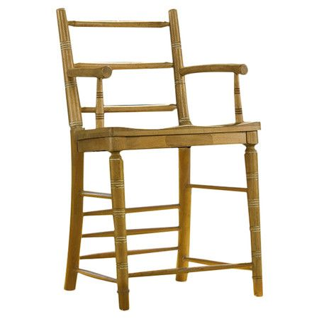 Counter Height Arm Chairs : ... on Pinterest Wood counter stools, Cushions and Counter stools