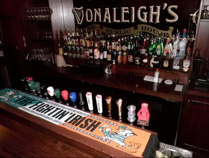 Beers on Tap at Donaleigh's Irish Public House - Downtown Barrie
