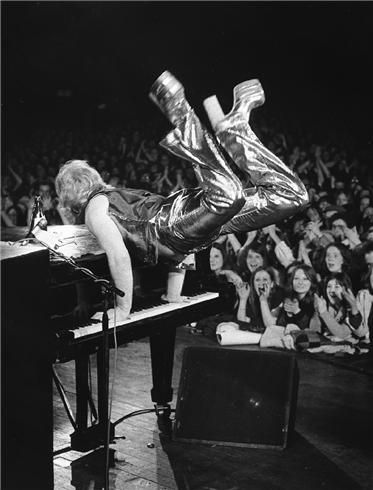 """Elton John """"It's a little bit funny this feeling inside. I'm not one of those who can easily hide"""""""