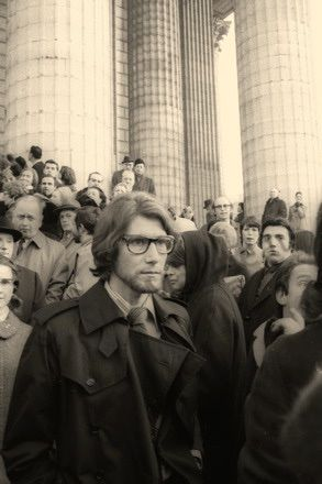 1971_YSL enterrement de Coco Chanel