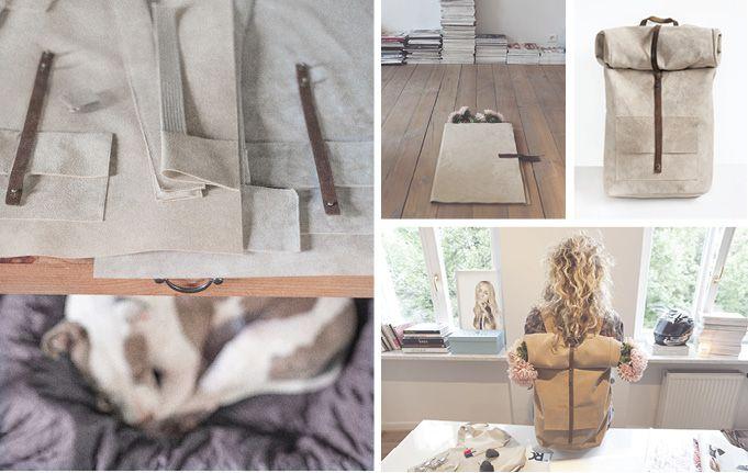 MUM - leather goods - accesories / layout Samantha Kamiński / rostyleandlife.com