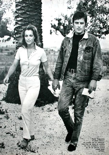 Romy Schneider ♥ Alain Delon @}-,-;--