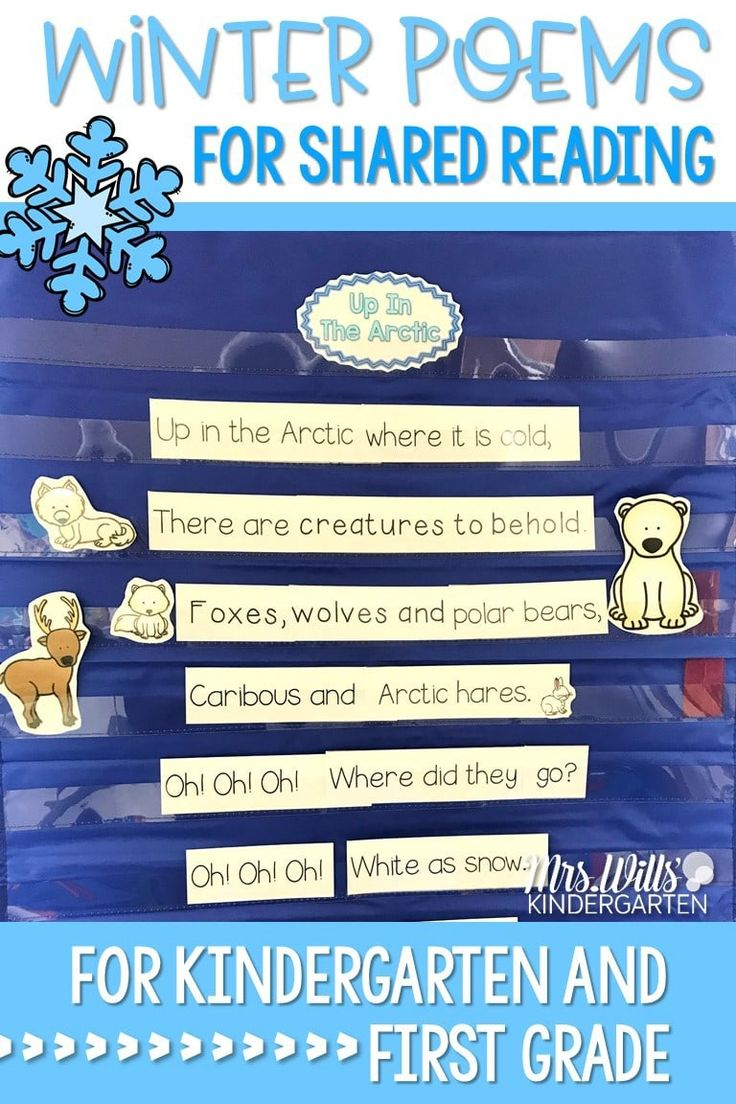 Winter Poems for Shared Reading!