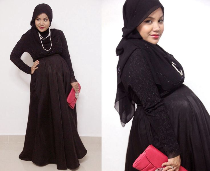 Beautiful...mash'a-allah....hijab and being pregnant