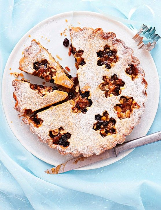 This elegant recipe turns the humble mince pie into a fantastic Christmas dessert. Use bought shortcrust pastry and a good-quality mincemeat to save time. Finish with a dusting of silvery icing sugar.