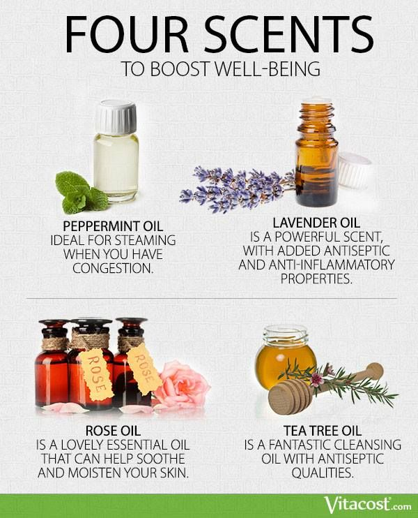 4 Scents to Boost Well-Being