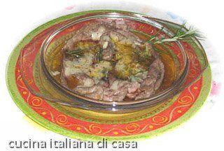 carpaccio di manzo caldo al rosmarino e parmigiano