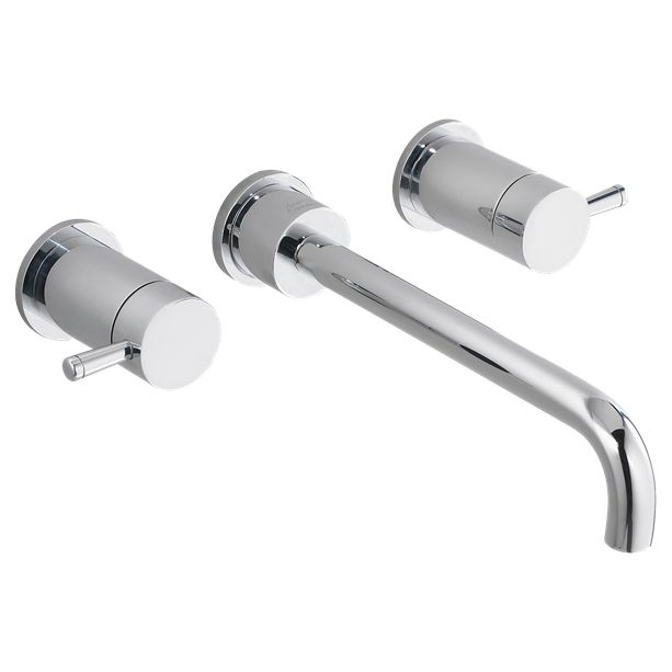 Photography Gallery Sites MOEN Monticello in Widespread Low Arc Bathroom Faucet Trim Kit in Chrome Valve Not The Home Depot