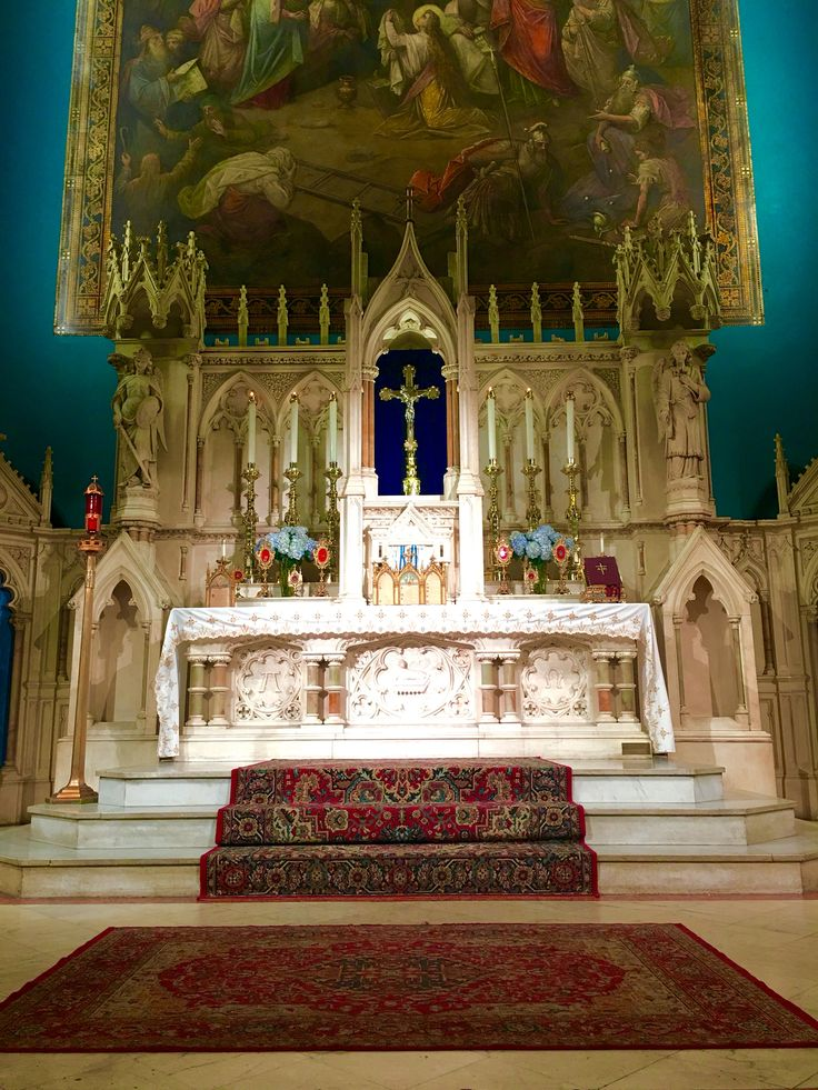 The high alter at my parish of the Holy innocents in