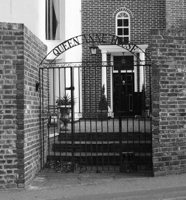 Queen Anne House Black & White Photography