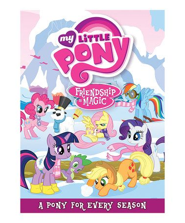 Another great find on #zulily! My Little Pony Friendship Is Magic: A Pony for Every Season DVD by My Little Pony #zulilyfinds