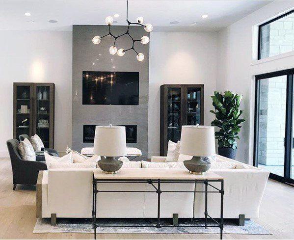 Top 50 Best Living Room Lighting Ideas Interior Light Fixtures Living Room Lighting High Ceiling Living Room Comfortable Living Room Furniture