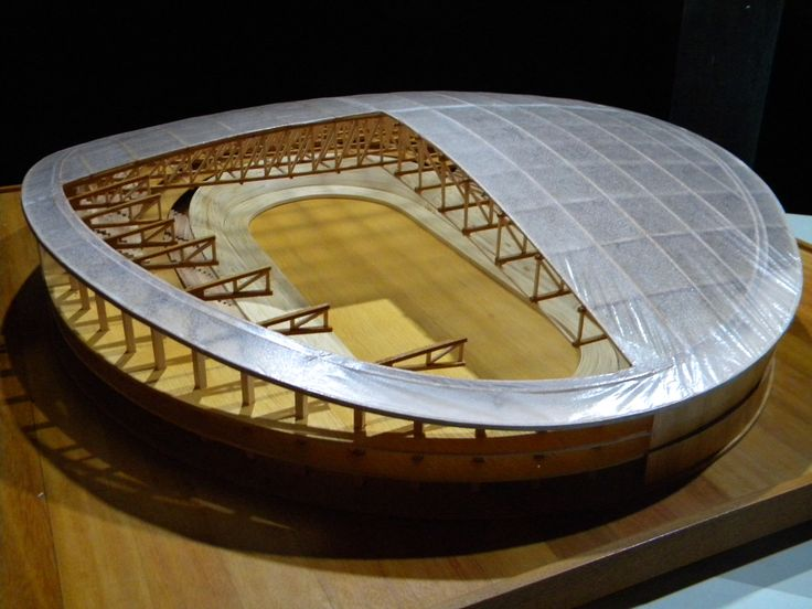 Scale Model of the Rio 2016 Olympics Velodrome - Crafted by André Aaltonen